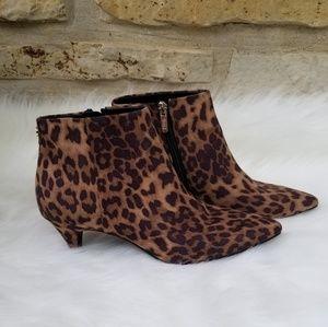 Sam Edelman Circus Kirby leapord booties